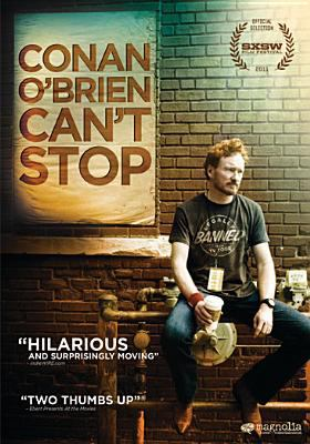Cover image for Conan O'Brien can't stop
