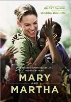 Cover image for Mary and Martha