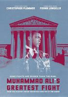 Cover image for Muhammad Ali's greatest fight