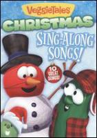 Cover image for VeggieTales. Christmas sing-along songs!