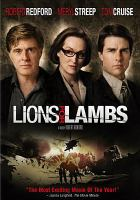 Cover image for Lions for lambs