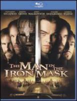 Cover image for The man in the iron mask