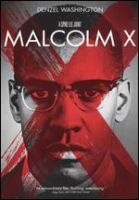 Cover image for Malcolm X