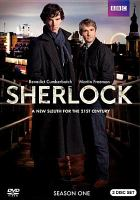 Cover image for Sherlock. Season one