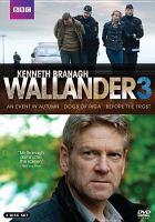 Cover image for Wallander. 3