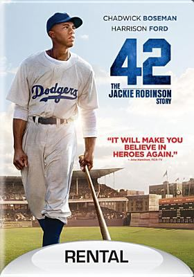 Cover image for 42 the Jackie Robinson story