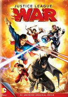 Cover image for Justice league war