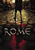 Cover image for Rome. The complete first season