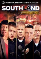 Cover image for Southland. The complete fifth and final season