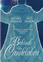 Cover image for Behind the candelabra