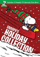 Cover image for Snoopy's holiday collection