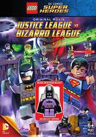Cover image for Lego DC Comics super heroes. Justice League vs. Bizarro League.