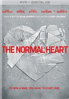 Cover image for The normal heart