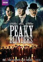 Cover image for Peaky blinders. Season one