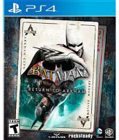 Cover image for Batman: return to Arkham.