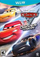 Cover image for Cars 3 : driven to win