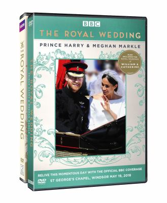 Cover image for The royal wedding. Prince Harry & Meghan Markle