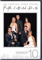 Cover image for Friends. The complete tenth season