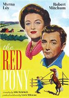 Cover image for John Steinbeck's the red pony
