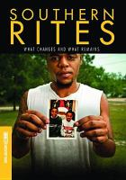 Cover image for Southern rites : what changes and what remains