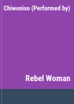 Cover image for Rebel woman