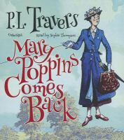 Cover image for Mary Poppins comes back