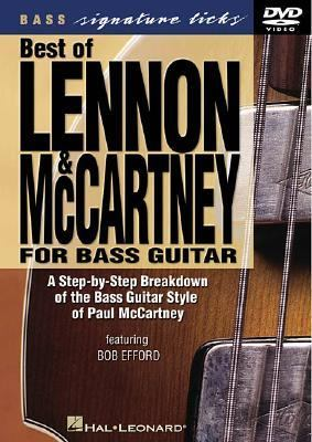 Best of Lennon & McCartney for bass guitar [DVD videorecording] : a step-by-step breakdown of the bass guitar style of Paul McCartney