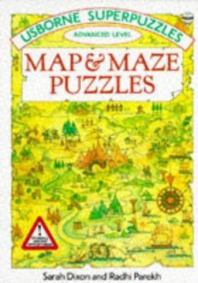 Map & maze puzzles by Sarah Dixon