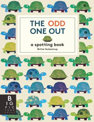 The odd one out : a spotting book by Britta Teckentrup