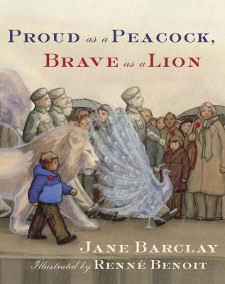 Cover image for Proud as a peacock, brave as a lion