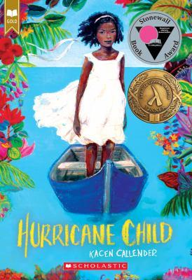 book cover: Hurricane child