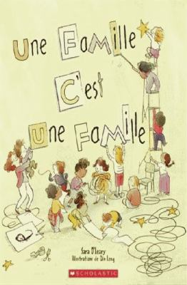 Une famille c'est une famille by Sara O'Leary