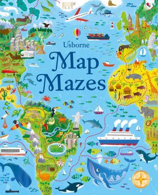 Map mazes by Sam Smith