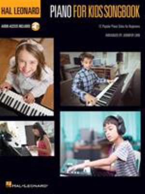 Piano for kids songbook 12 popular piano solos for beginners