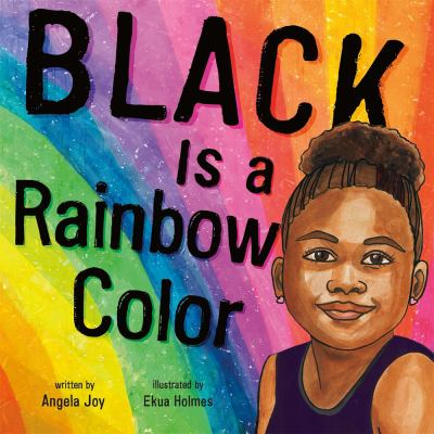 book cover: Black is a rainbow color