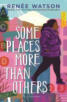 book cover:  Some places more than others