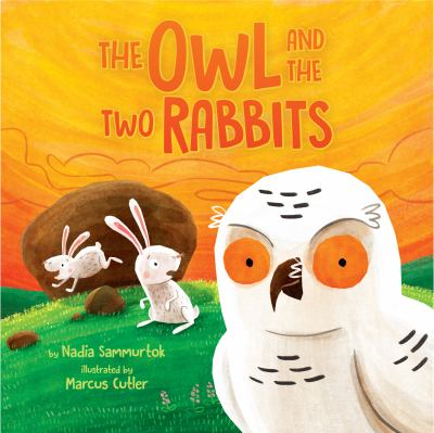 The Owl and the two rabbits by Nadia Sammurtok