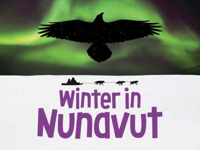 Winter in Nunavut by Maren Vsetula
