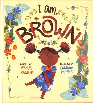book cover: I am brown
