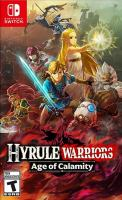 Cover image for Hyrule warriors Age of calamity.
