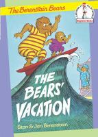 Cover image for The bears' vacation