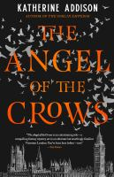 Cover image for The angel of the crows