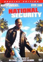 Cover image for National security