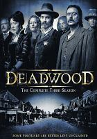 Cover image for Deadwood The complete third season