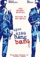 Cover image for Kiss kiss bang bang