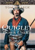 Cover image for Quigley down under