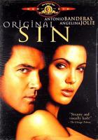 Cover image for Original sin