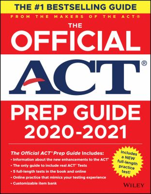 Cover image for The official ACT prep guide