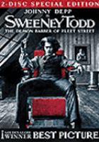 Cover image for Sweeney Todd the demon barber of Fleet Street