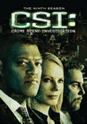 Cover image for CSI: crime scene investigation The ninth season